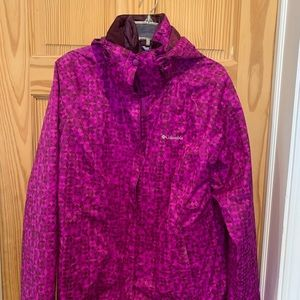 Women's Large Columbia 3 in 1 jacket